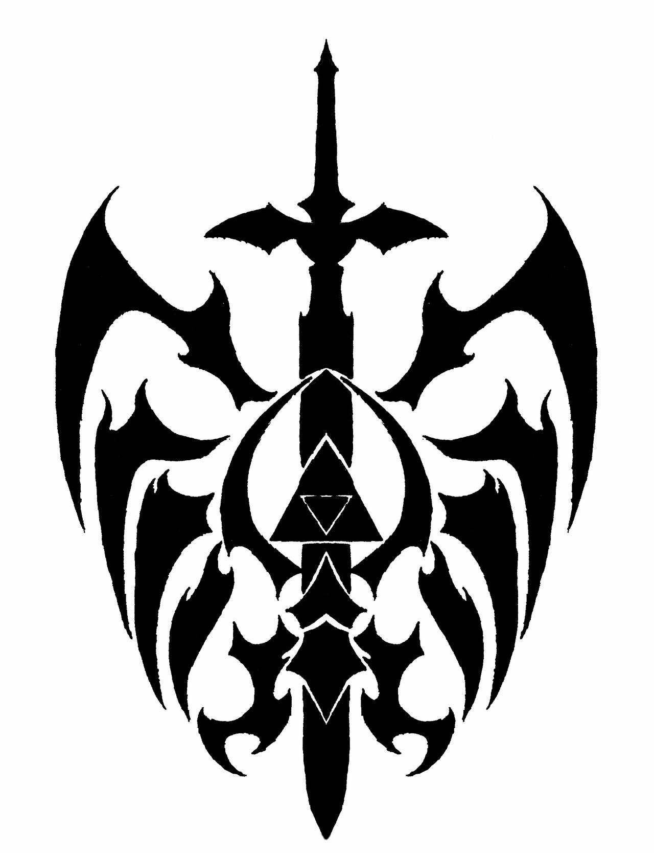 Triforce Drawing Triforce-thingy by atsuraelu