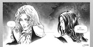 Alucard and Trevor Belmont - Dracula's Curse