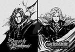 Alucard and Louis from Rhapsody of Darkness