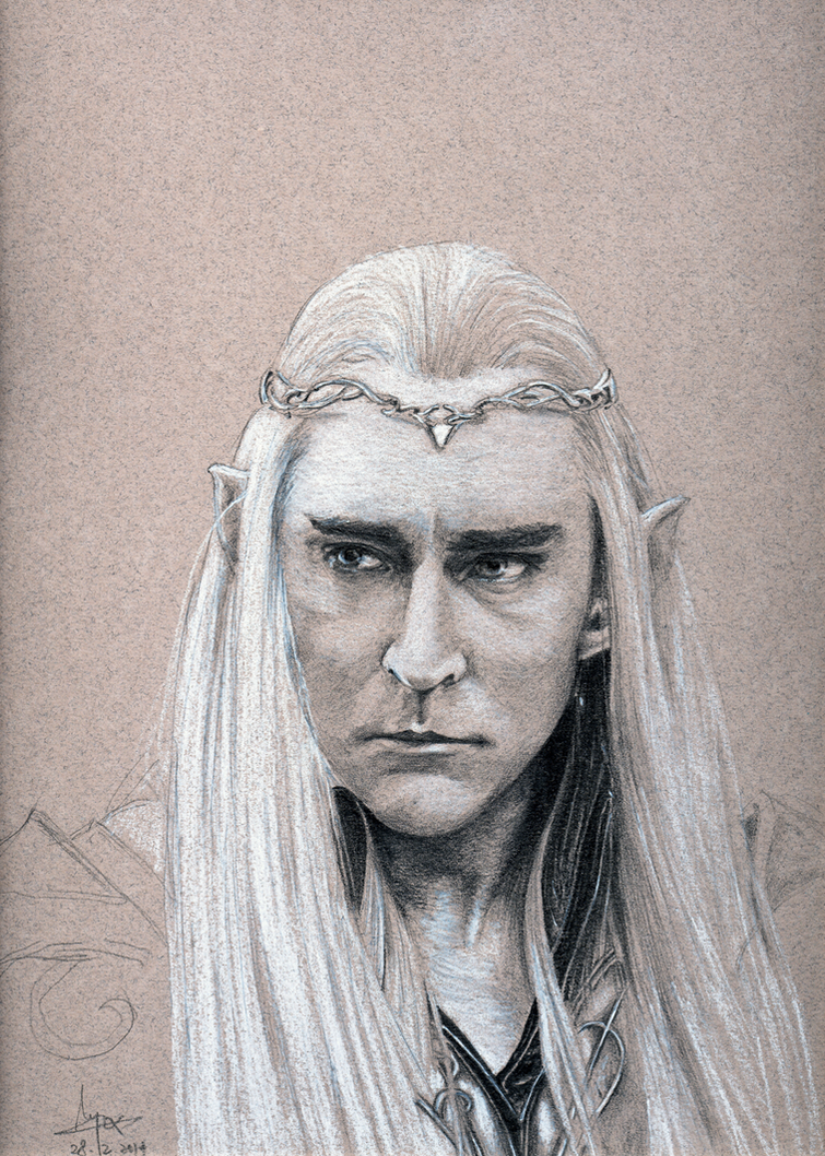 Elven King Thranduil by cdraco318