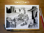 Giant Scorpion - Monstrous Inktober 2018