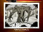 Ent - Monstrous Inktober 2018 by Siwerski