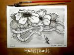 Giant Whipler - Monstrous Inktober 2018 by Siwerski