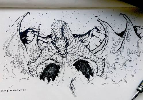 Dragon  - INKTOBER 2019