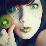 kiwis are yummy by bailey--elizabeth