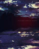 it is quiet when we whisper by bailey--elizabeth