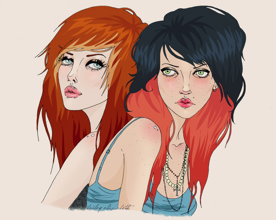 PiPER + ELLi0T by bailey--elizabeth