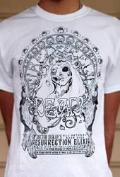 ressurection elixir t-shirt