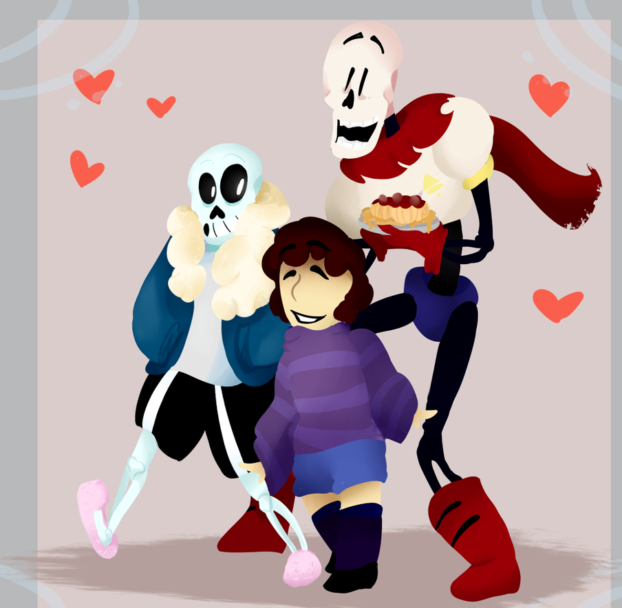 SD: Skeleton stroll by SeriousSillyness