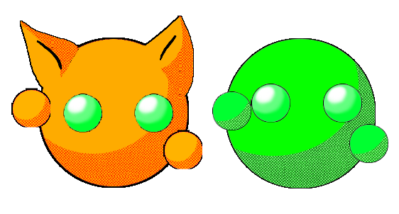 Green and Orange Thingy by SWJG