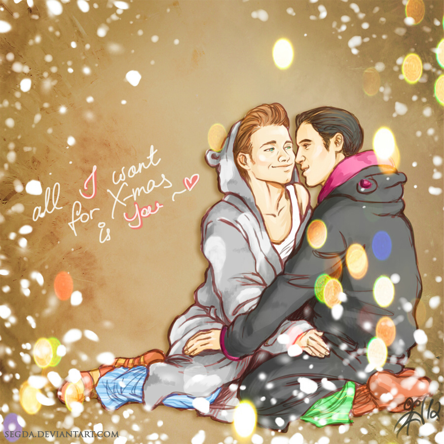 Klaine: all I want for X-mas... by Segda