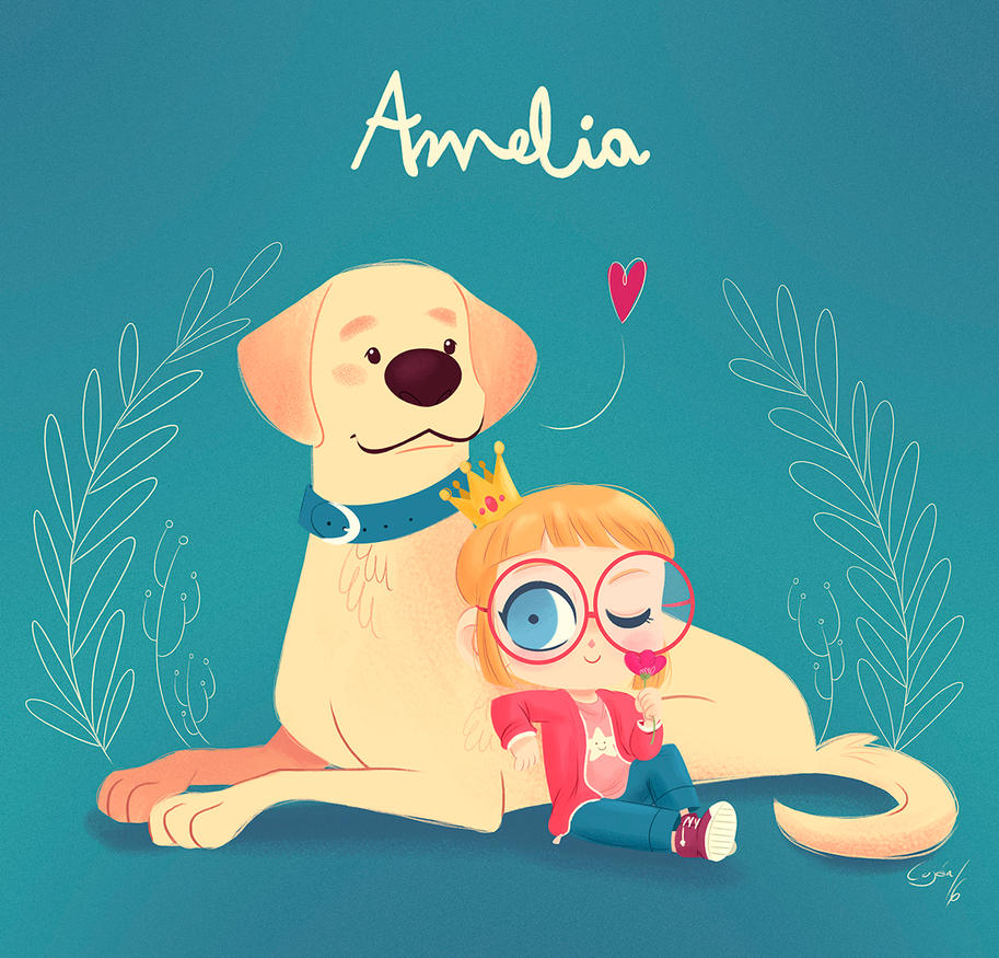 Amelia by lujus