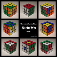 3: Tribute to Erno Rubik by 3moX