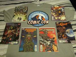 Comic Con haul!