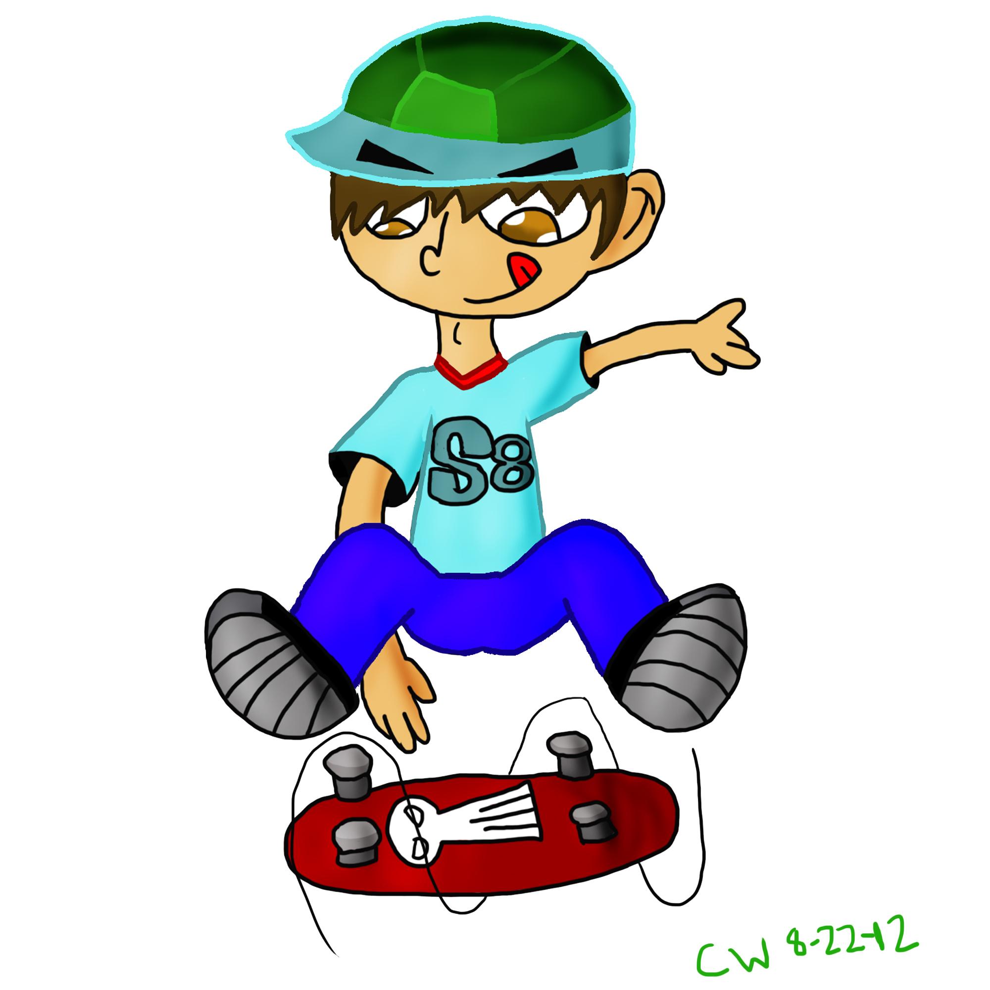 Skater Dude by MozartProds on DeviantArt