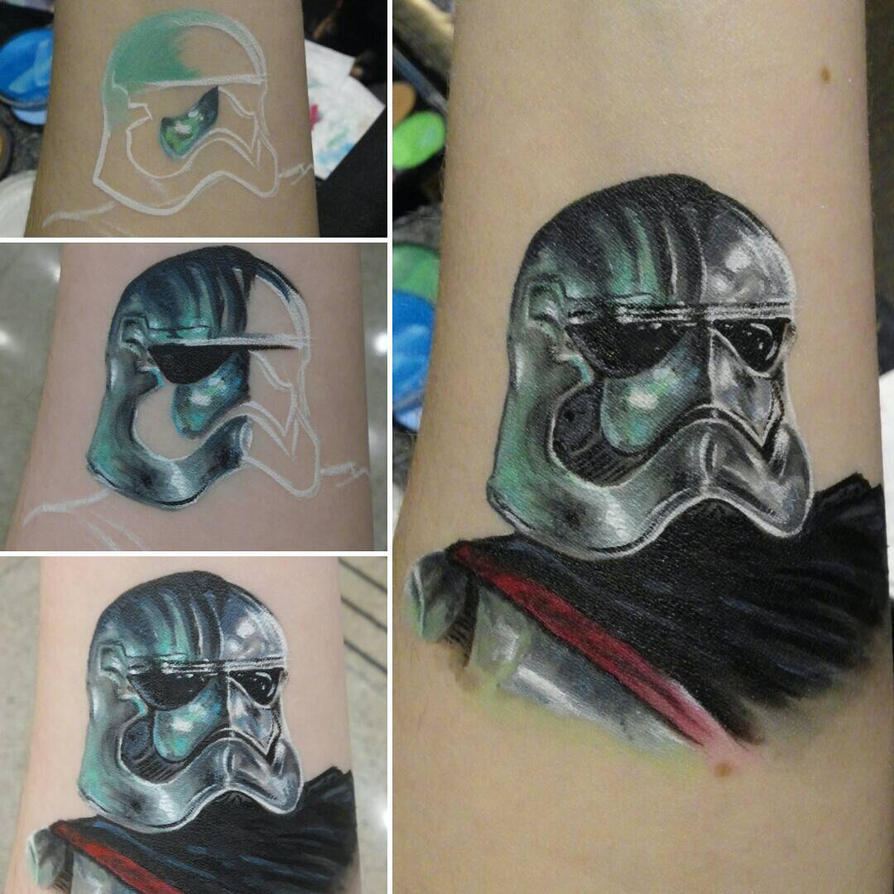 Captain Phasma Arm Painting by a-chelsea-grin