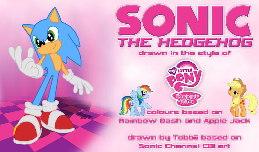Sonic vs MLP by SirTobbii