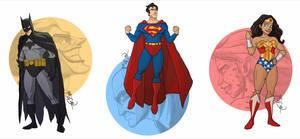 DC Trinity Animated