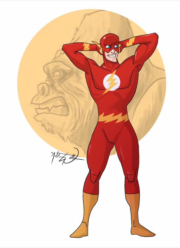 The Flash Animated by AnthonyWall on DeviantArt