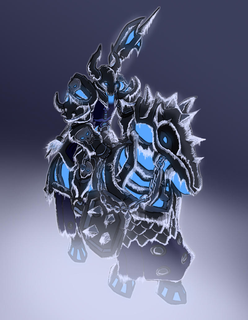Frost Death Knight by Doudren on DeviantArt