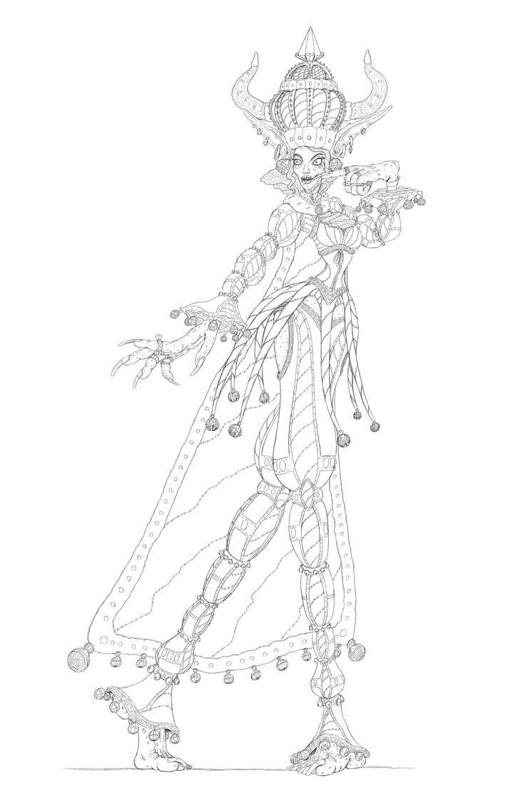Goblin Queen by Doudren