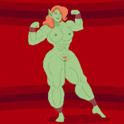 Gretta the Goblin (Nude) by Doudren