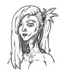 Cyberpunk (Line Art) by Doudren