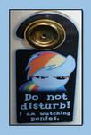 Rainbow Dash Door Hanger