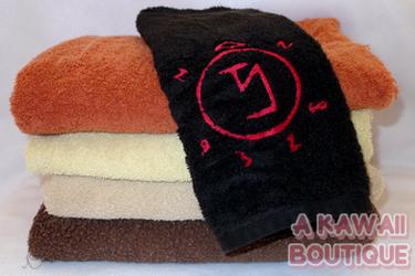 Embroidered Angel Banishing Sigil Hand Towel