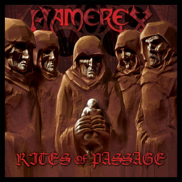 Hamerex - 'Rites of Passage' Album Cover by grindstoneart