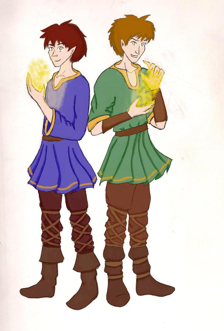 Nari and Narfi by Rowan-Leaf