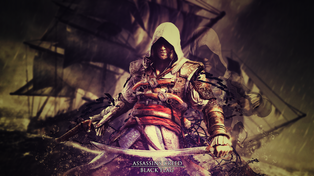 assassins creed black flag wallpaper by aziilgraphics on