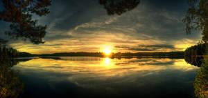 Sunset V by Lindqvist