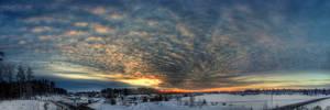 Sunset VII by Lindqvist