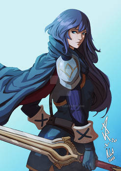 Lucina collab with Mythpainter