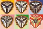 Time Force Badges