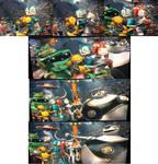 Robots cast