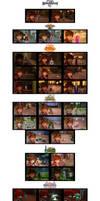 Kingdom Hearts III Character Selfies