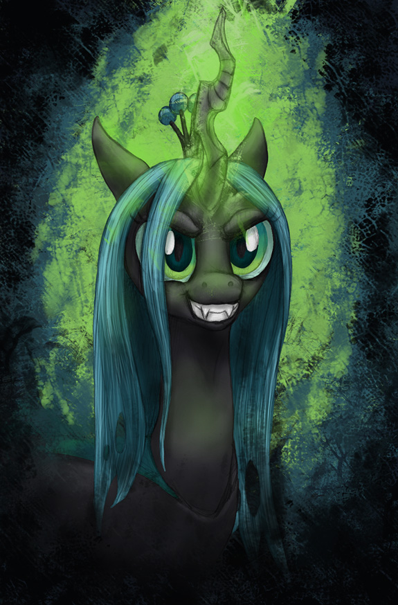 Chrysalisgrin by ecmajor