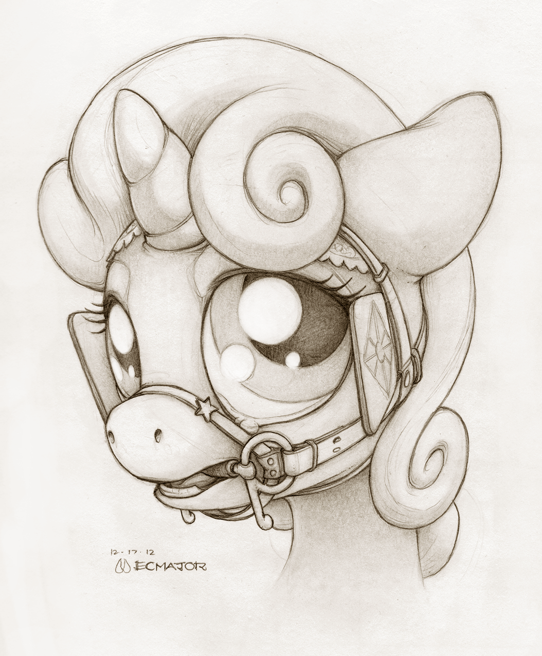 Bridle Belle by ecmajor