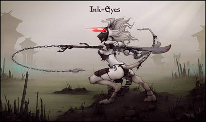 Ink-Eyes by ecmajor