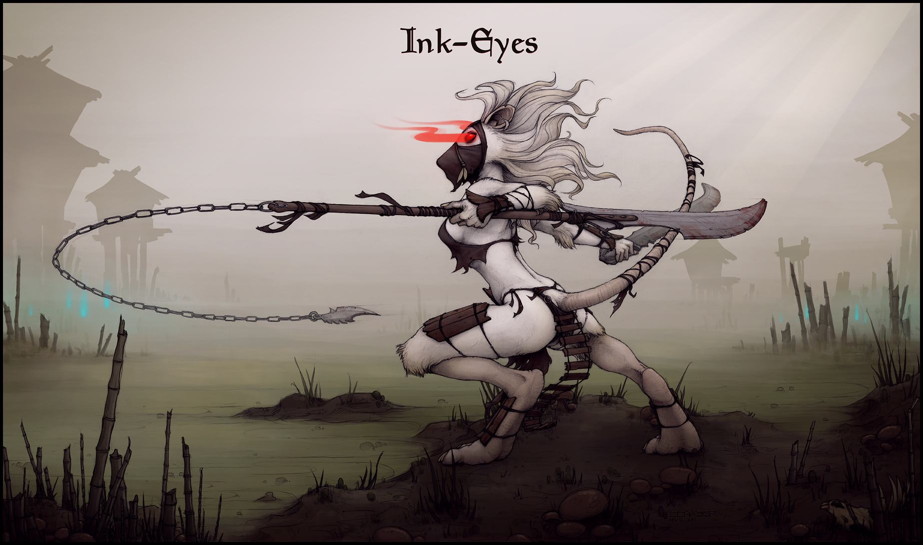 Ink-Eyes by ecmajor