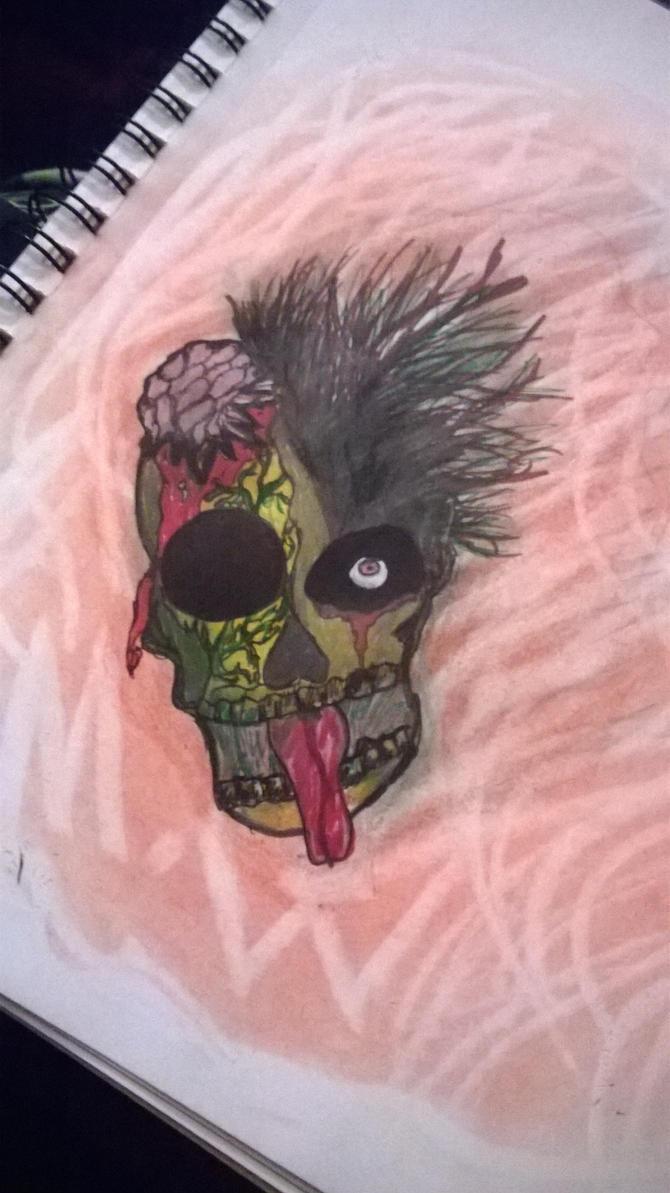 Zombie punker by kakashilover1
