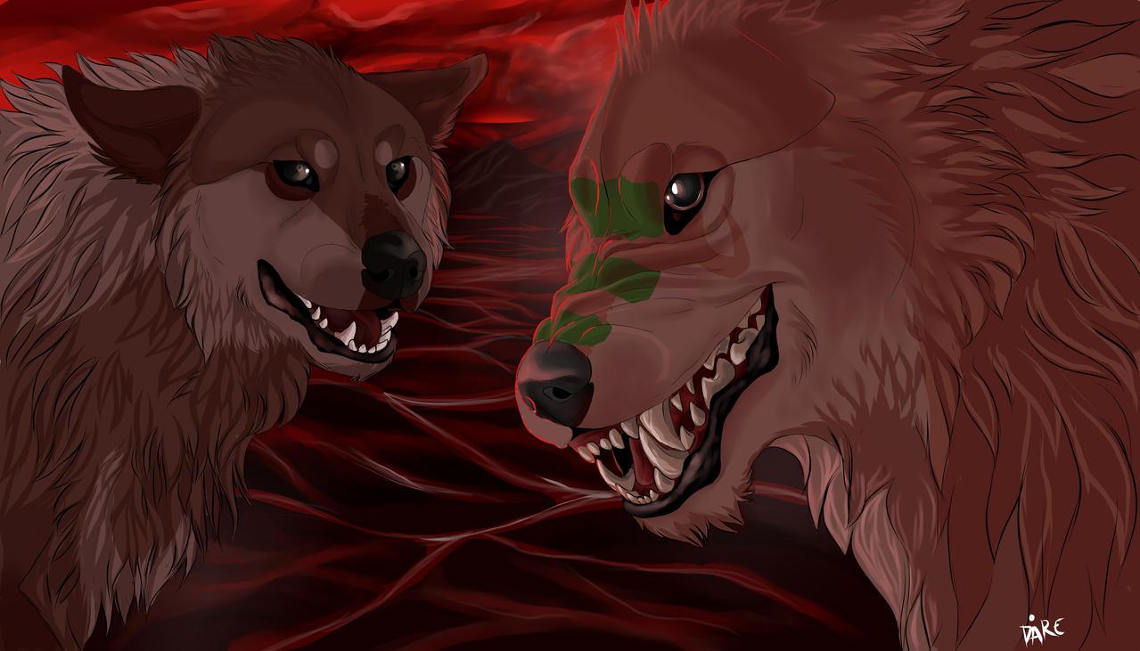 Lake of blood by ThisSoul