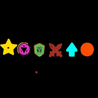 Dungeon dice monsters crest by BordlineInsane