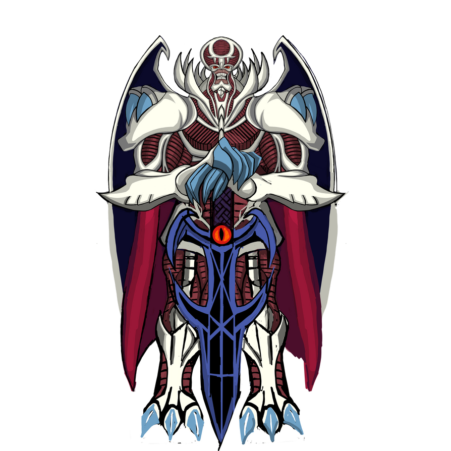 Yu-Gi-Oh! dungeon dice monsters Archfiend king big by BordlineInsane