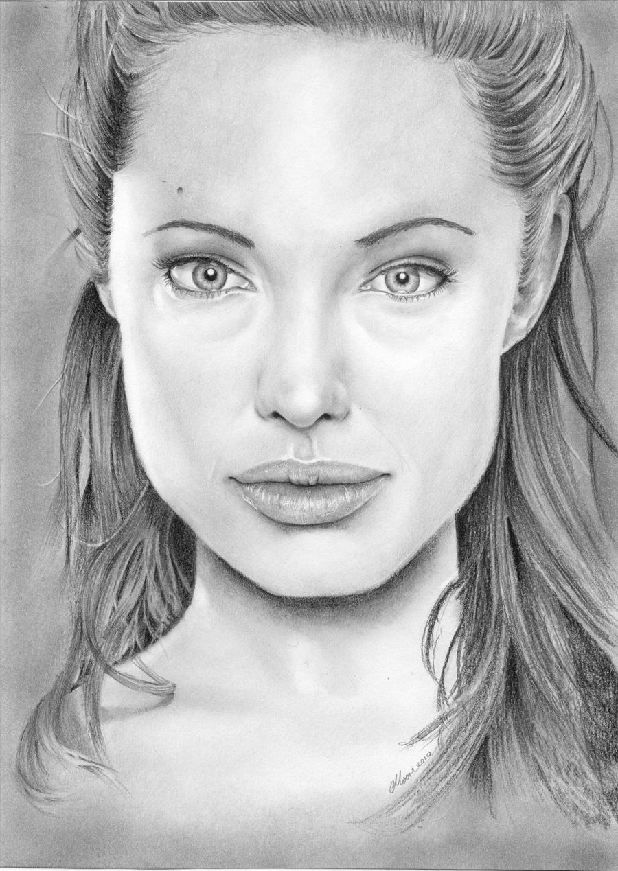 Angelina Jolie by Larc-Romeo