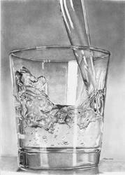 Glass of water by Larc-Romeo