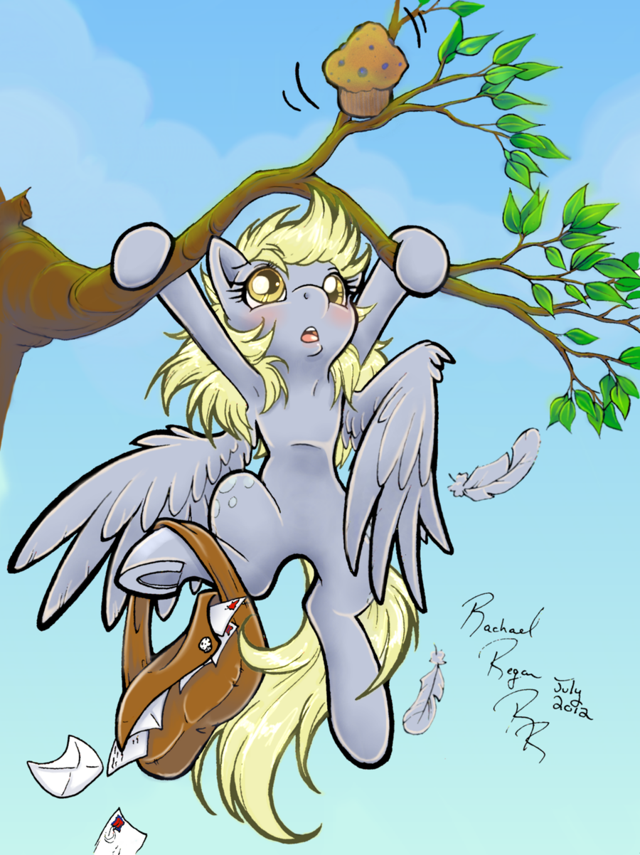 Hang In There Derpy by kiss-the-thunder