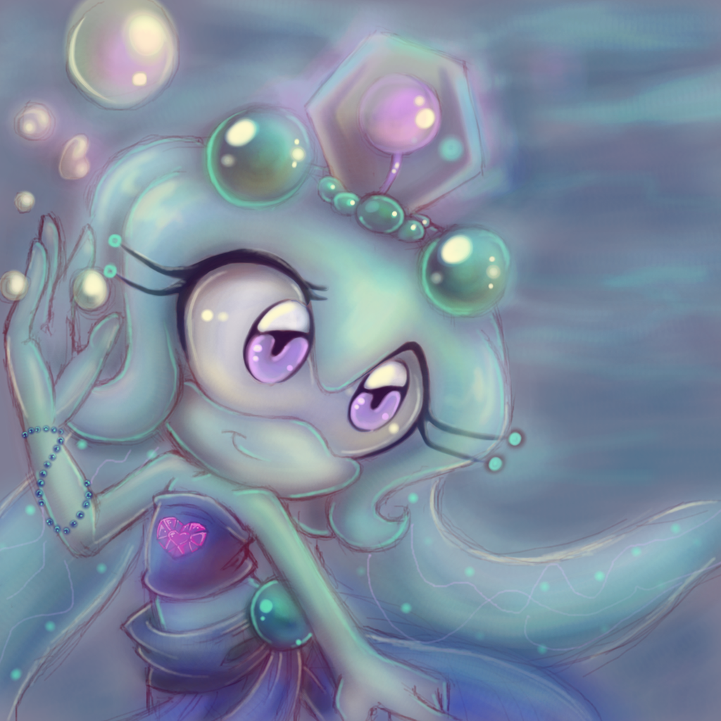 Jewel the Giant Siphonophore by kiss-the-thunder